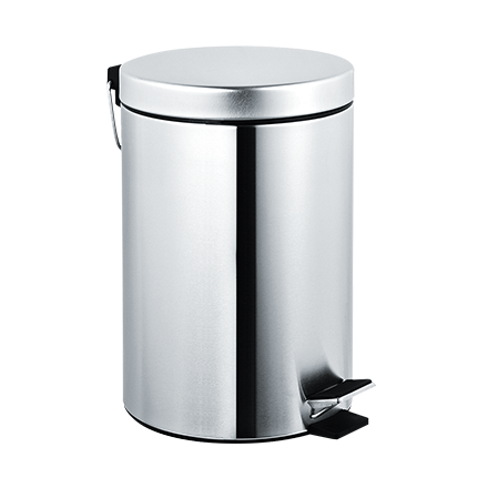 7317 ASI Covered Waste Receptacle