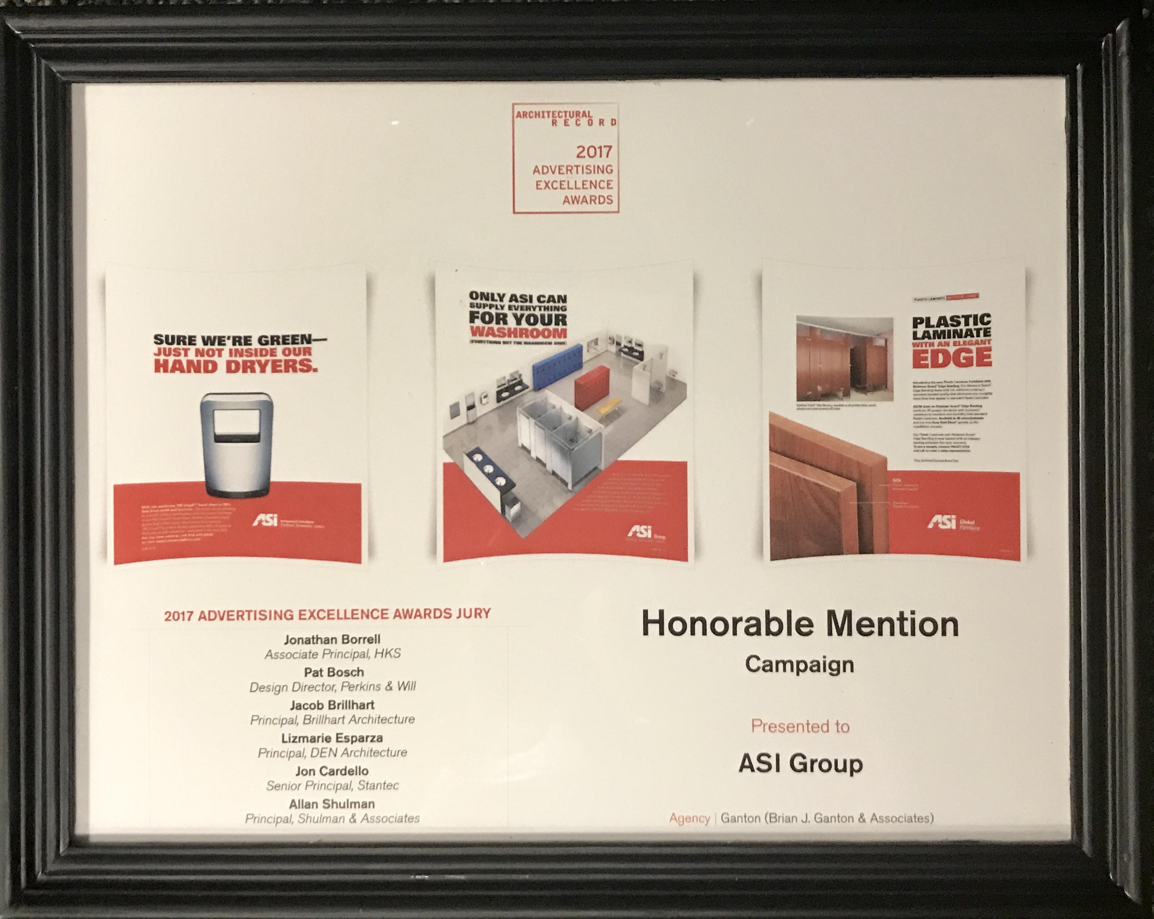 AIA '17 Award