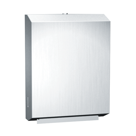 0210 Paper Towel Dispenser Multi C Fold Surface Mounted Stainless Steel