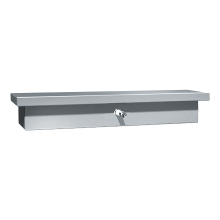 0318 Soap Dispenser And Shelves One Liquid Valve Surface Mounted