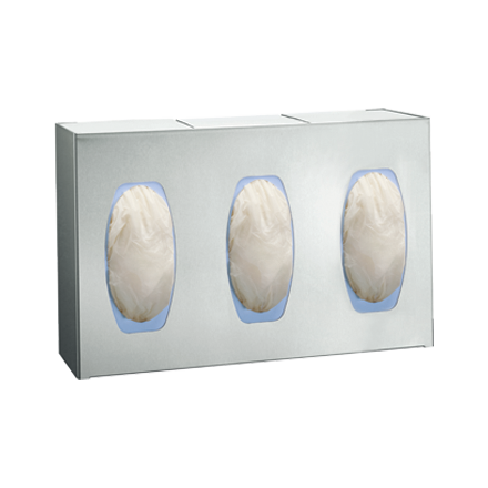 Surface Mounted Surgical Glove Dispenser Three Boxes