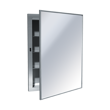 Medicine Cabinet 24w X 26h Recessed Stainless Steel