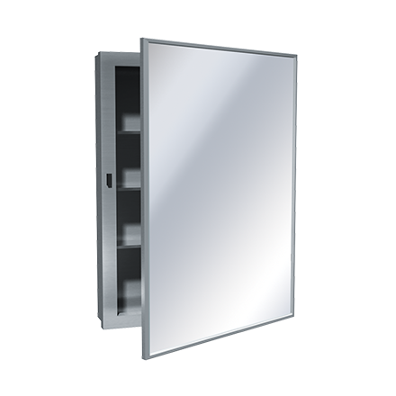 0953 Medicine Cabinet Surface Mounted Stainless Steel