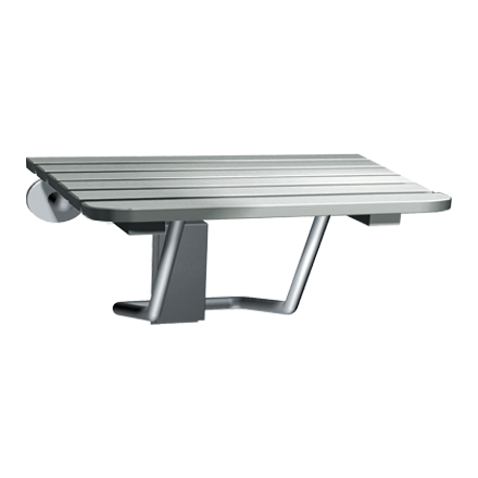Folding Shower Seat Stainless Steel Ada American